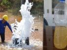 """เตือน! ห้ามนำน้ำพุโซดา ไปผสมเหล้าดื่ม เนื่องจากหลังแช่เย็น พบ """"มีสีขุ่น-มีกลิ่น"""""""